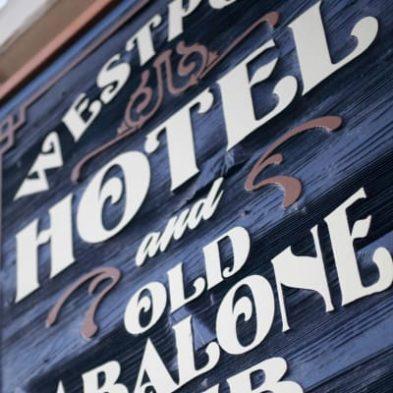 Westport Hotel sign